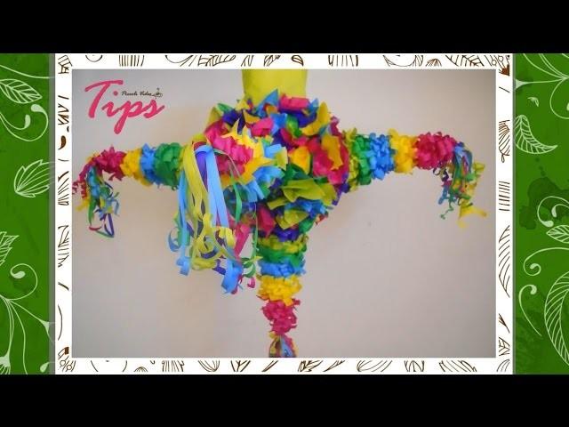 Piñata para tus Posadas - Manualidades de Navidad - DIY