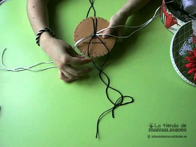 Pulsera Kumihimo Redonda tutorial