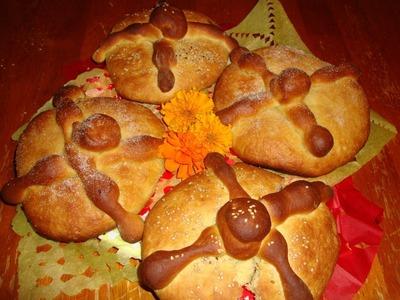 Receta de pan de muerto, tradición mexicana - Receta de hojaldras - La receta de la abuelita