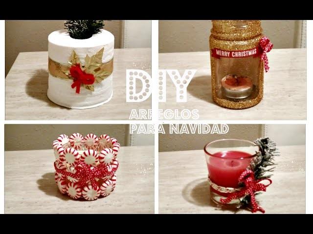 4 Adornos Navideños DIY. Manualidades Navideñas Stylebyyoli
