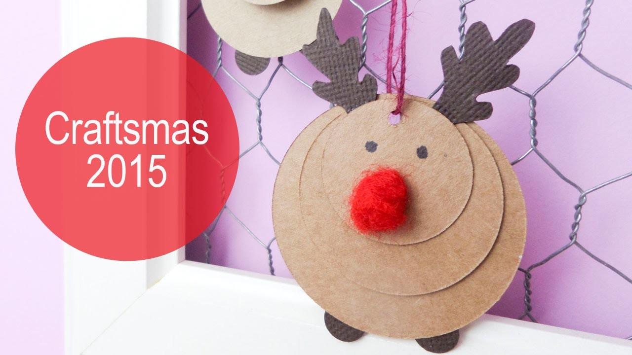 Adorno navidad | Reno | Craftsmas 2015