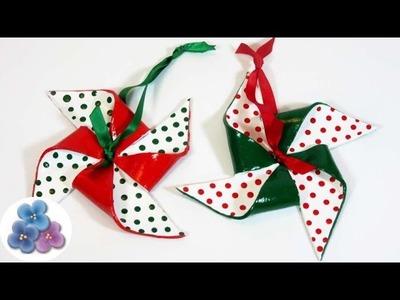Adornos Navideños 2015: Como Hacer Molinos de Arcilla Tutorial Adornos de Navidad Pintura Facil