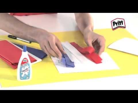 Banderita Chilena - Recicla, Crea y Juega con Pritt