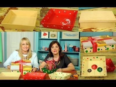 Cajas de Fibrofacil para Navidad - El Tigre - Claudia Kunze