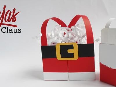 Cajas Sr. & Sra. Claus || Paper Crafting || (Navidad)