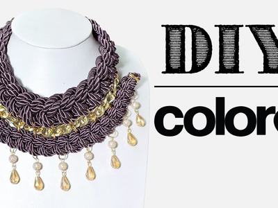 DIY Collar Trenzado Doble - Colore Accesorios