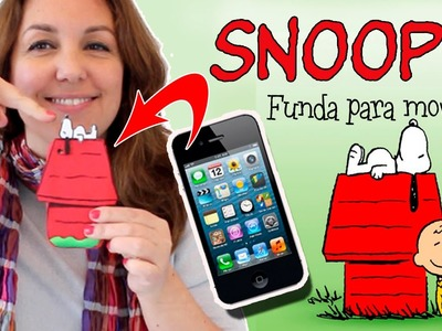 FUNDA para móvil de SNOOPY * FUNDAS para celular caseras