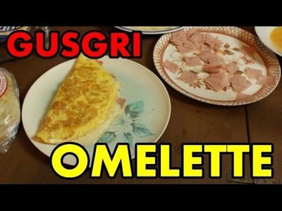 GUSGRI HACE OMELETTE DE JAMÓN