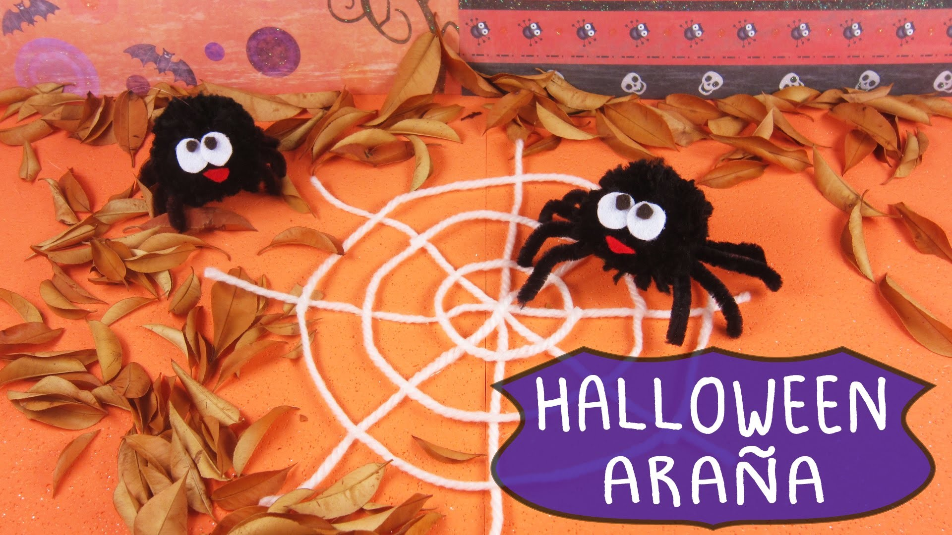 Halloween Araña