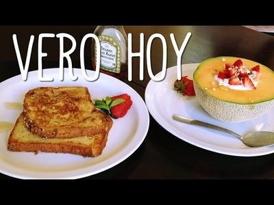Hoy Dos Recetas de Desayuno - Rapido y Facil