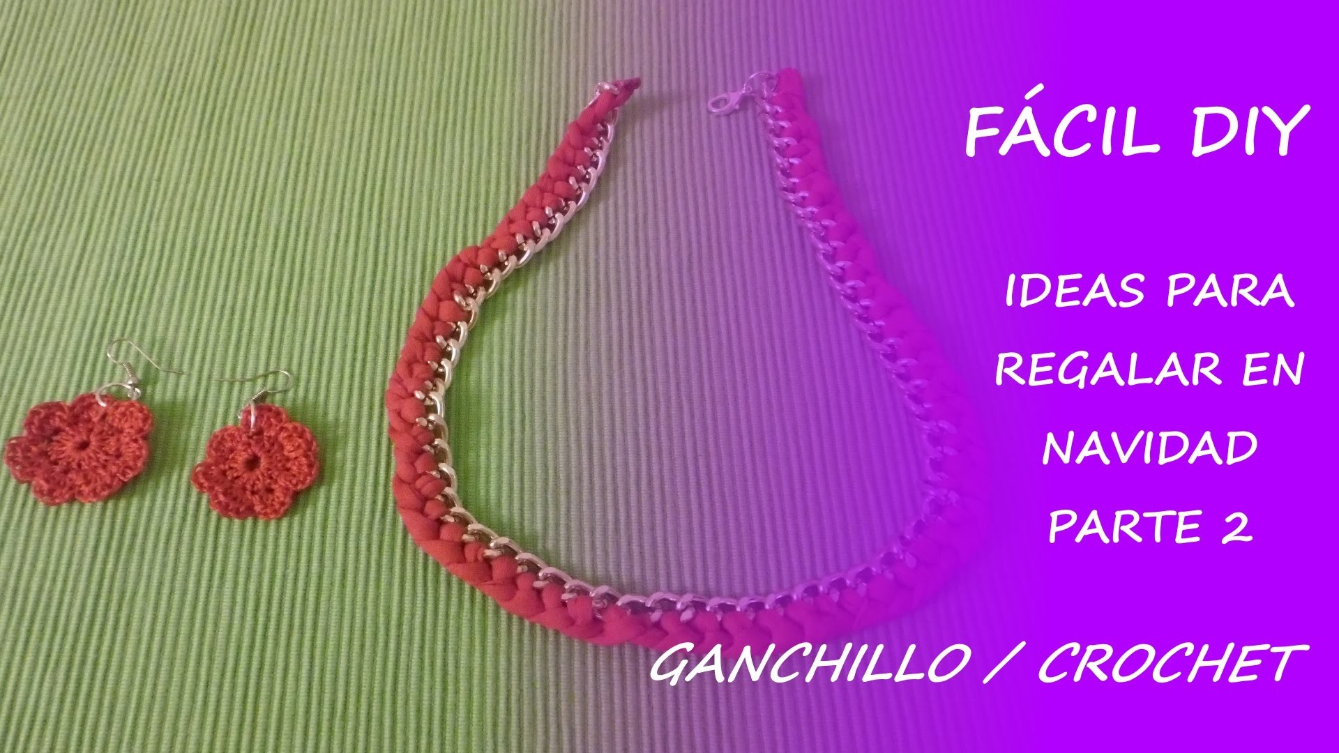 Ideas para regalar en Navidad (Parte 2) - ganchillo. crochet - Fácil DIY