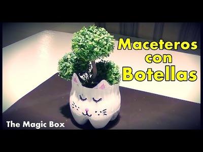 Maceteros con Botellas | The Magic Box