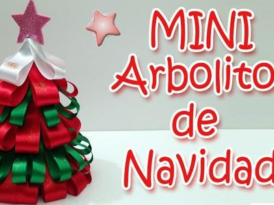 Mini arbolito de Navidad - Manualidades Para Todos