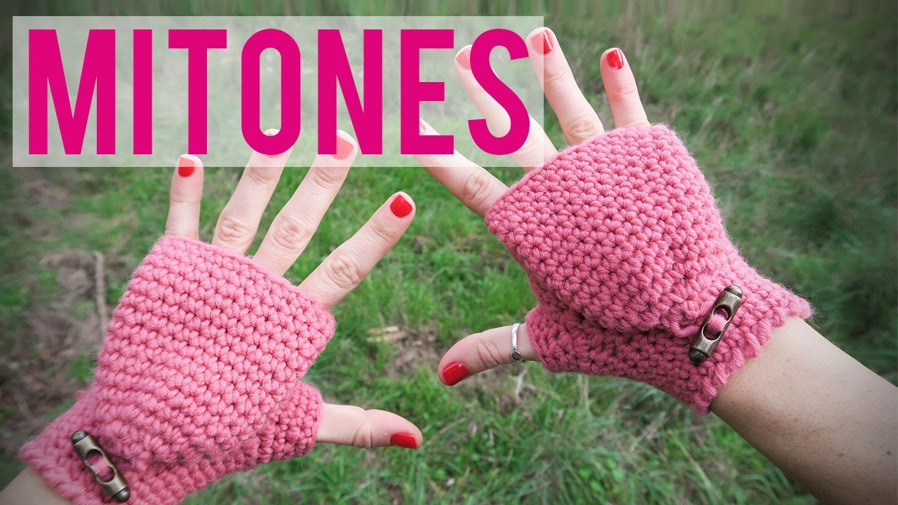 Mitones de ganchillo | Fingerless gloves | Mittens