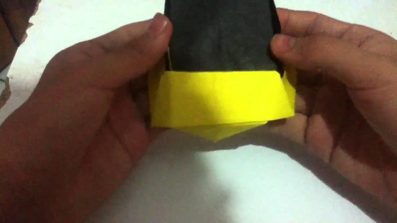 Origami : casco de daft punk V2