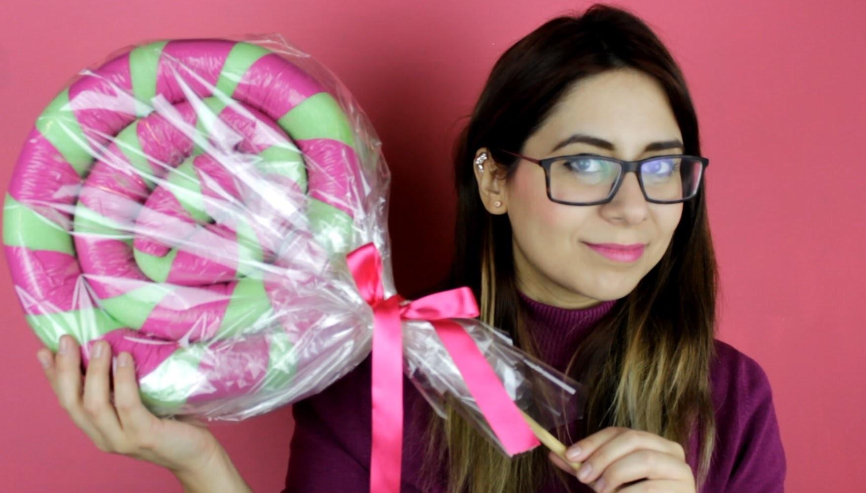 PALETA GIGANTE. Ideas para decorar en Navidad Colaboracion con SONIA ALICIA - Hablobajito