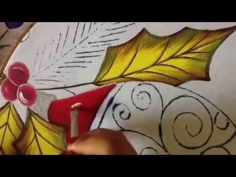 Pintura en tela esfera # 2 con cony