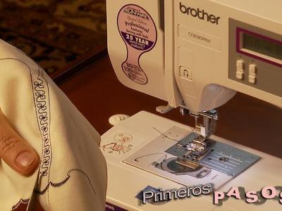 Primeros pasos con Brother CE8080PRW la maquina de coser computarizada