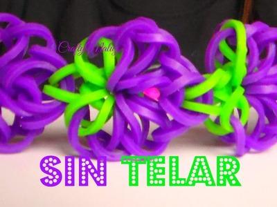 PULSERA DE GOMITAS CADENA DE UVAS SIN TELAR- Grape Chained Bracelet Without Loom