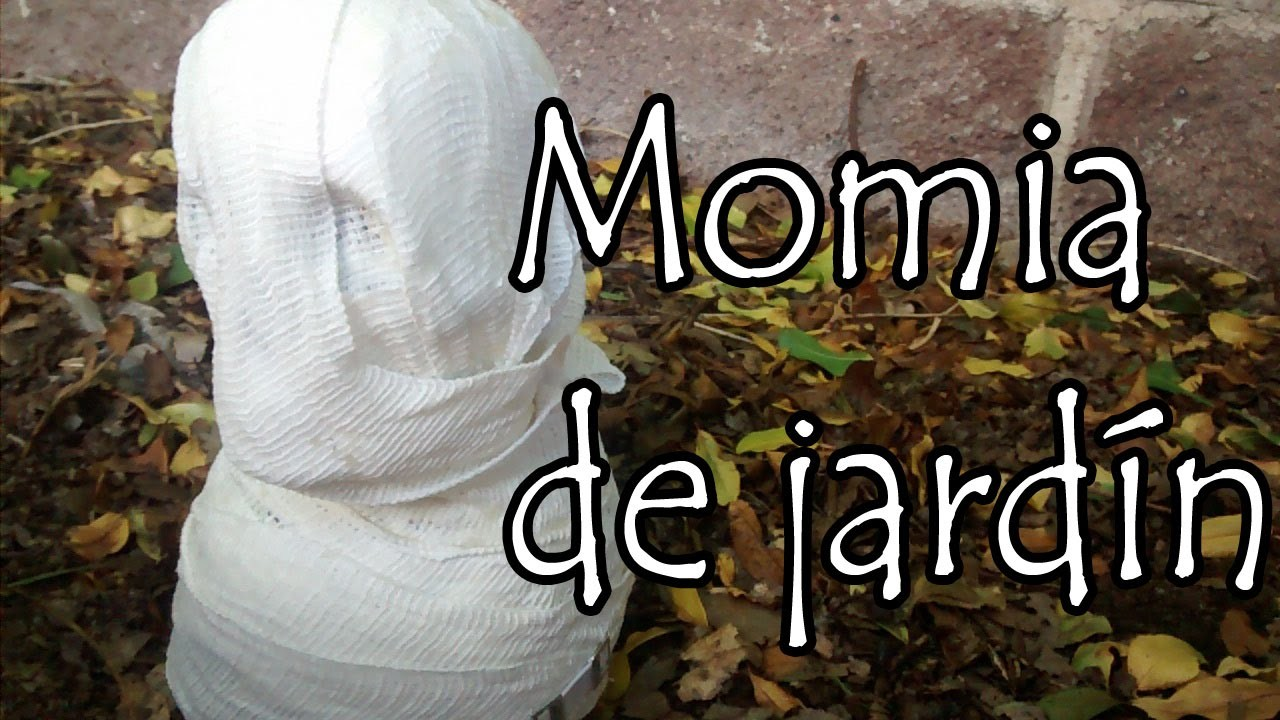 DIY: Momia de Jardin (super facil)