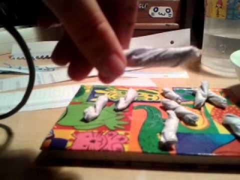 Skull hand DIY Halloween.Pastel Goth en espa�ol!