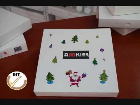 DIY chanclas rookies: decorar regalos Navidad