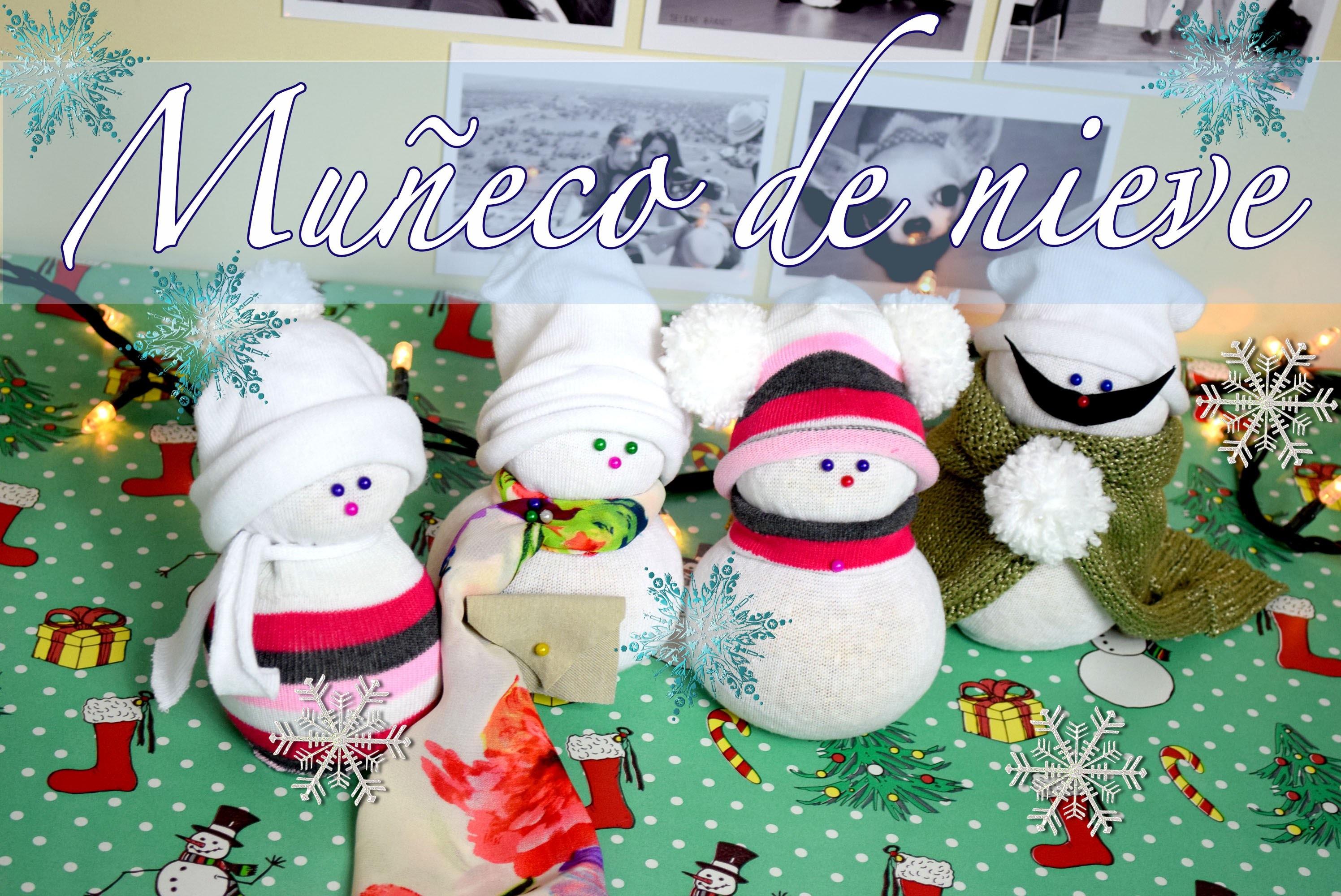 DIY: Muñeco de nieve ♡ Merry Christmas ❅  Navidad || Likesely