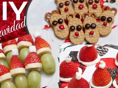 DIY Snacks Para Navidad