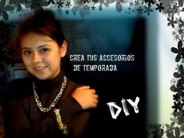 *DIY*Crea tus propios accesorios metalicos (pulsera y collar) Primavera-Verano By Estilo XalVer
