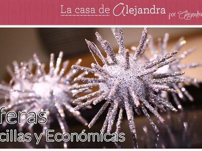 Sencillas y Económicas Esferas DIY Alejandra Coghlan