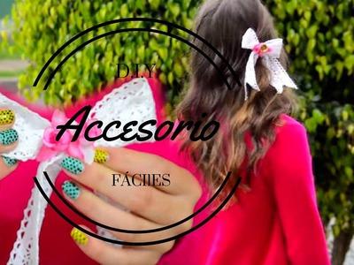 D.I.Y. | Accesorio para el cabello | Corbatín