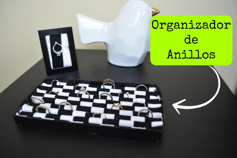 DIY| Organizador de anillos | Colgando Joyas