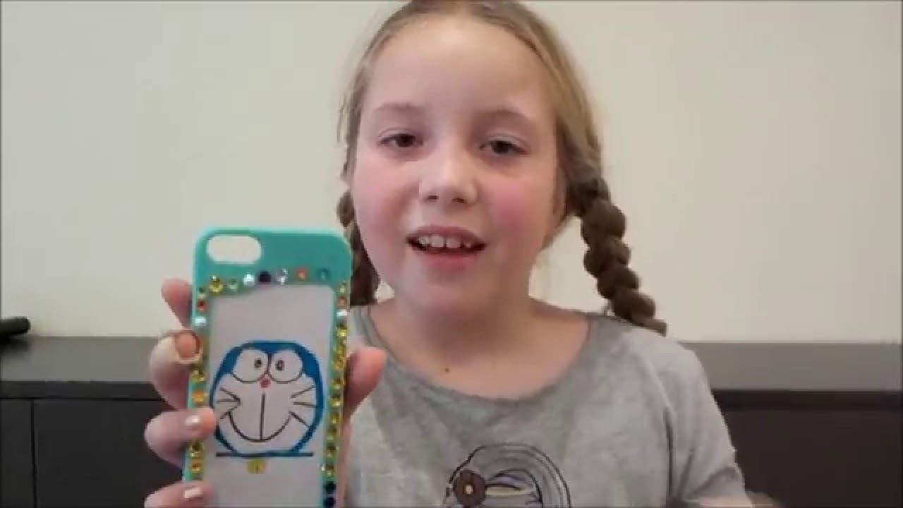Lilian DIY Doraemon mobile cover - Funda de móvil