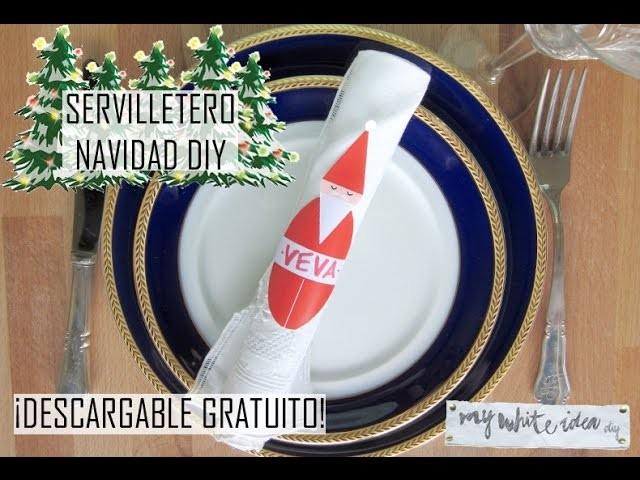 SERVETERO NAVIDAD DIY