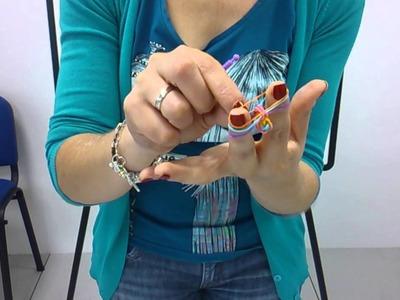Tutorial creación pulseras de colores Mari Carmen