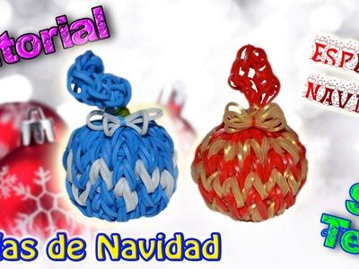 ♥ Tutorial[ESPECIAL NAVIDAD]: Bolas de Navidad (sin telar) ♥
