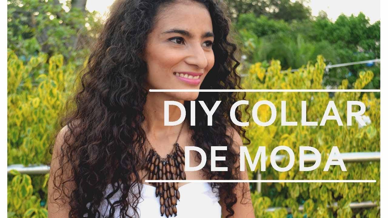 DIY - BISUTERÍA MODA - ORIGINAL COLLAR