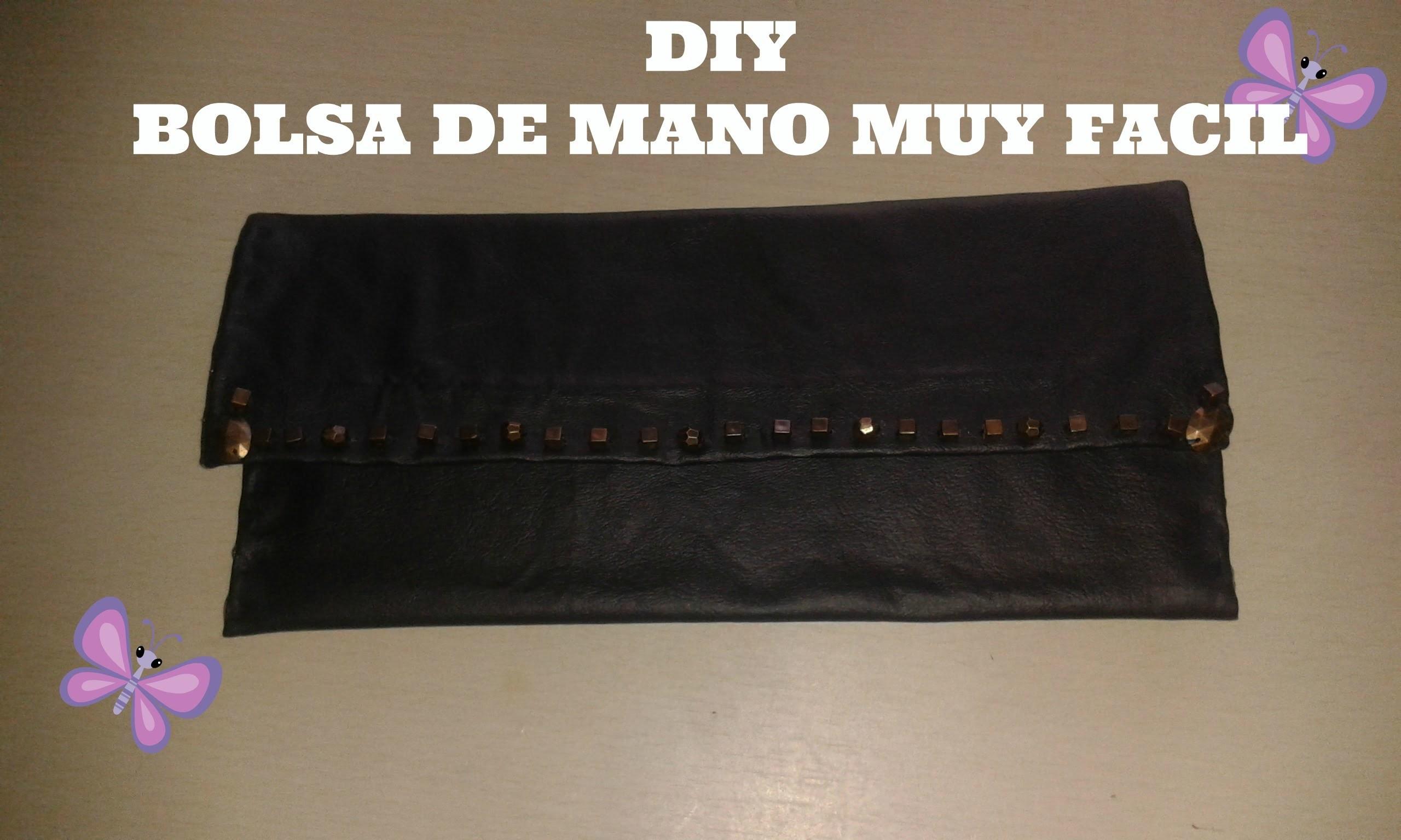 DIY BOLSA DE MANO MUY FACIL