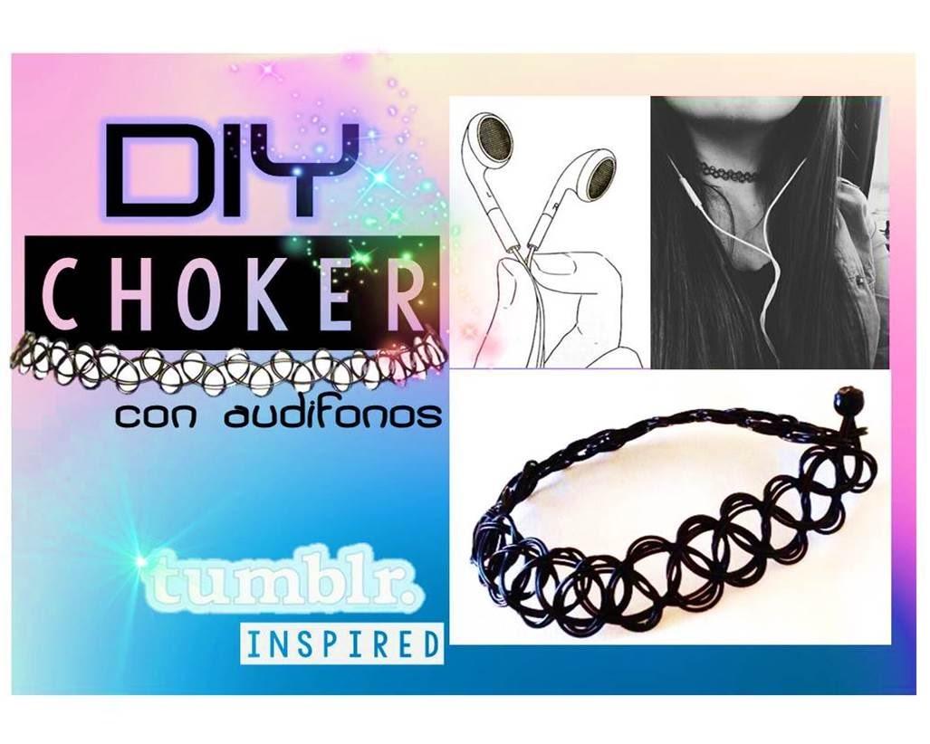 DIY - Como hacer un choker fácil