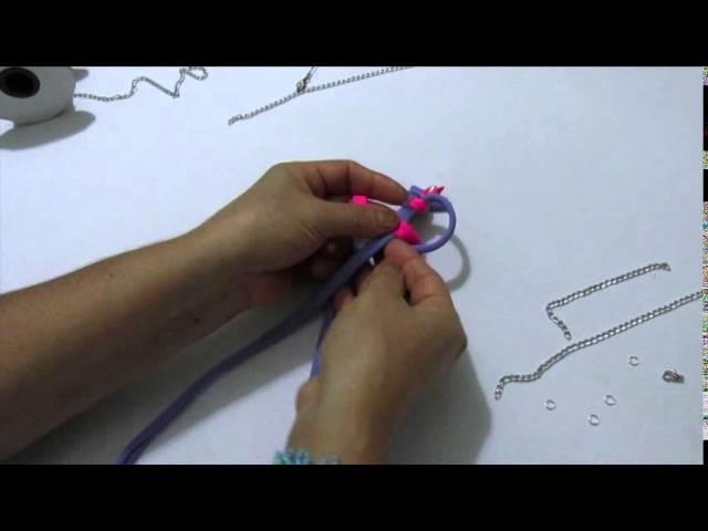 Tutorial: Collar textil en macramé