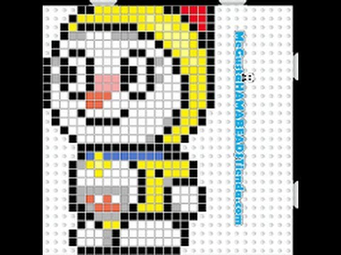 TUTORIAL HAMA BEADS CREATIONS DORAMY