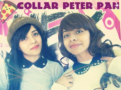 DIY: Cuello. Collar Peter Pan ||| Hey You! TV