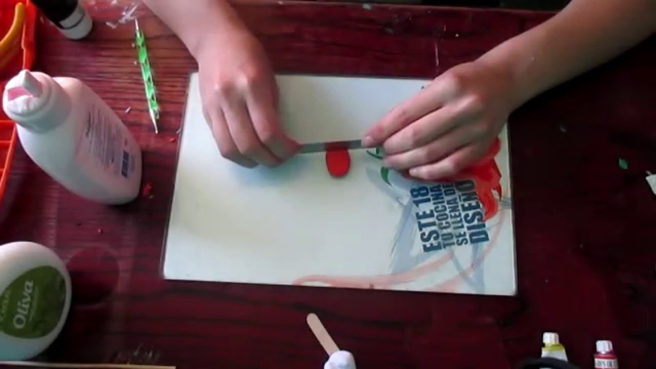 Mini Helado de Porcelana Fría | Tutorial