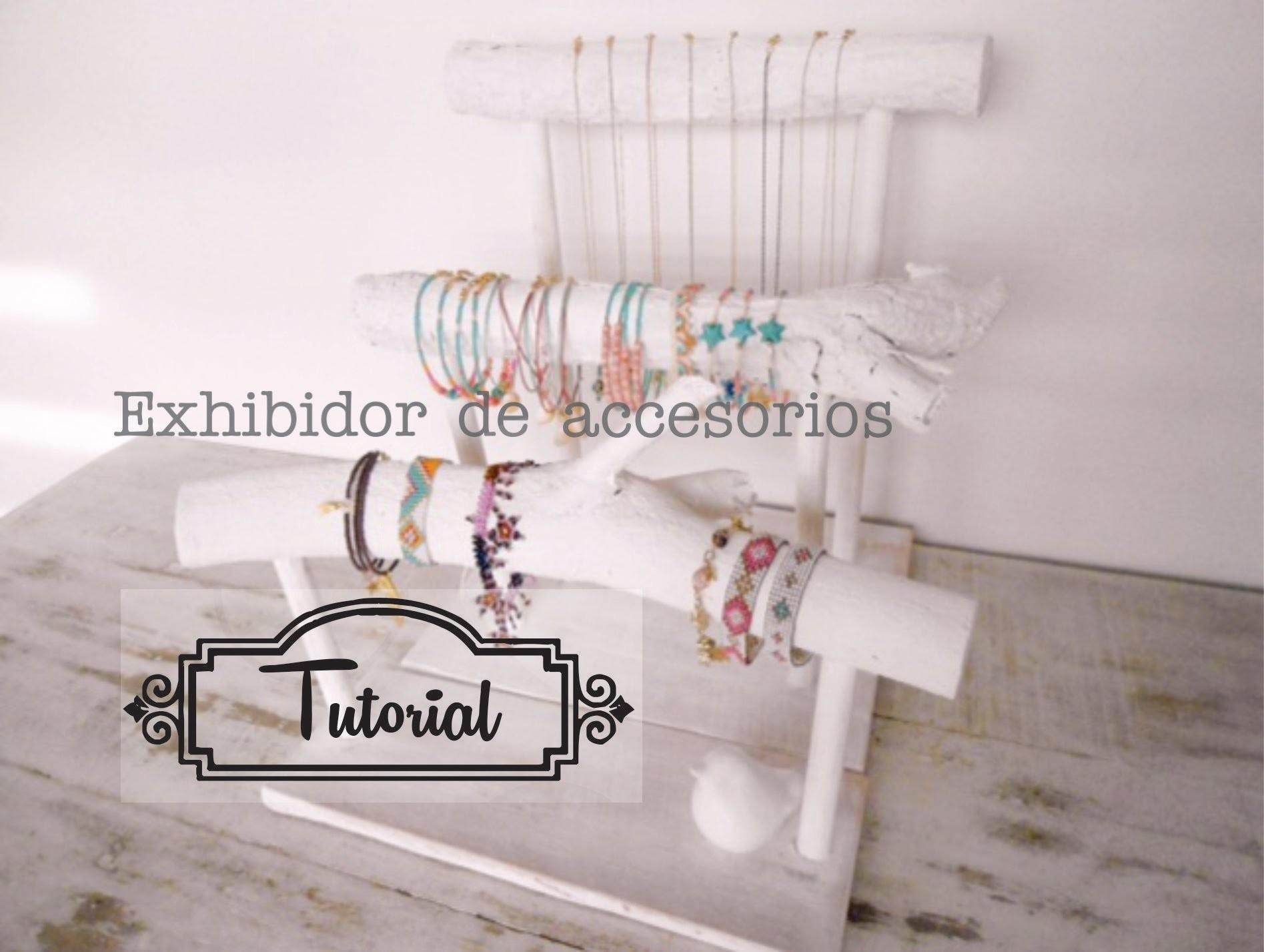 Tutorial exhibidores para accesorios y joyas vintage