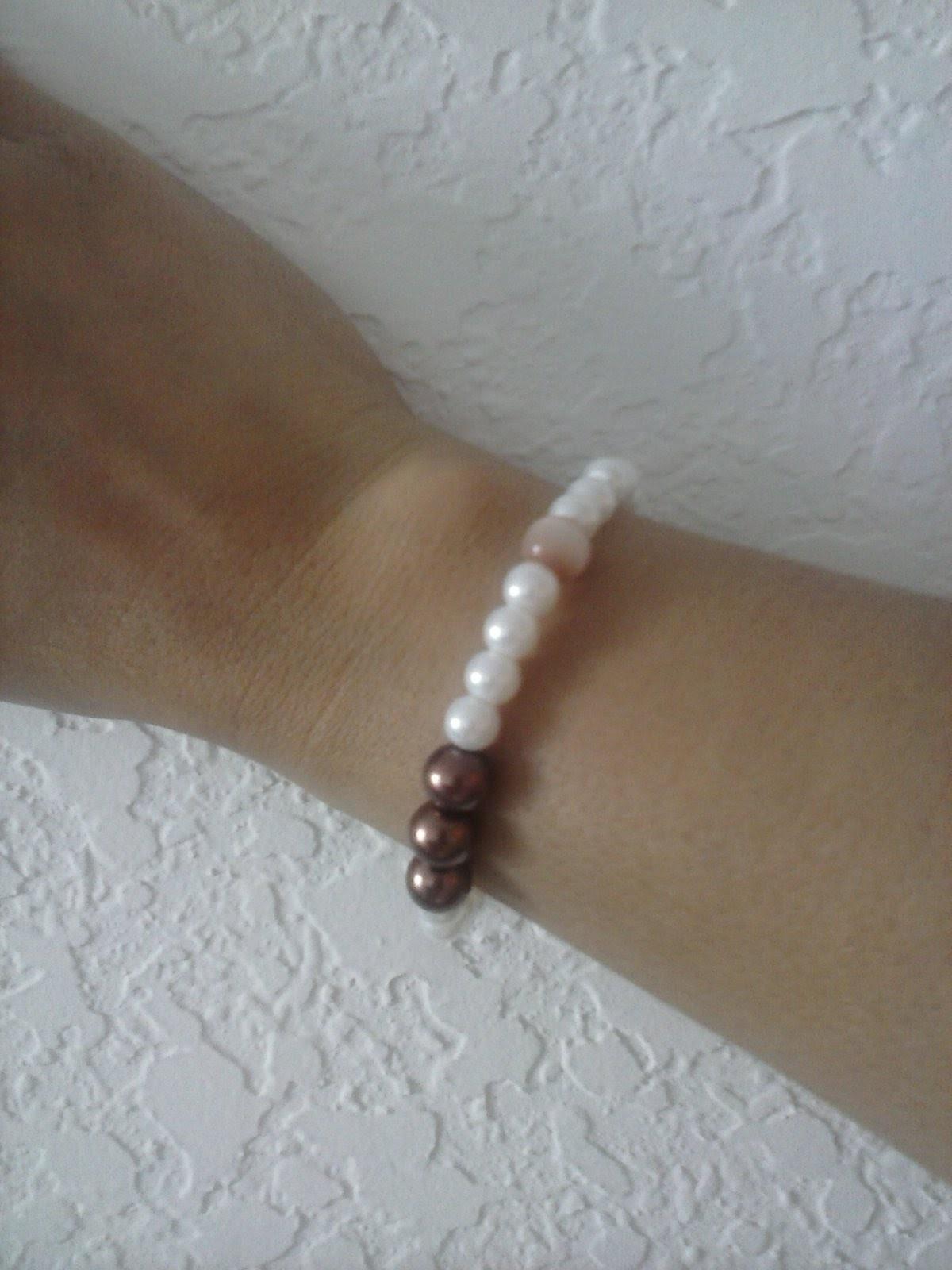 Tutorial pulcera de perlas