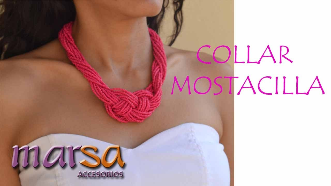 DIY -Collar Nudo Mostacilla -  Necklace