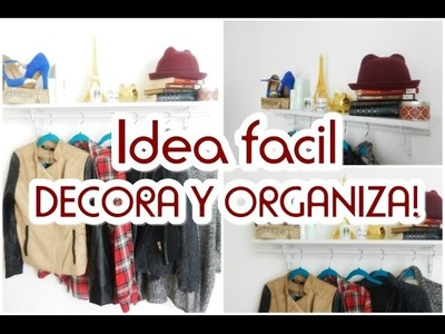 DIY-IDEA PARA ORGANIZAR TU ESPACIO!