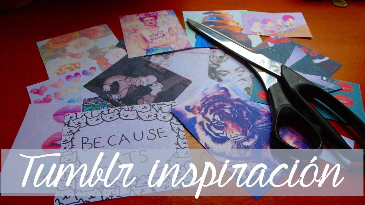 [Diy] ¡Reciclemos! | inspiración tumblr
