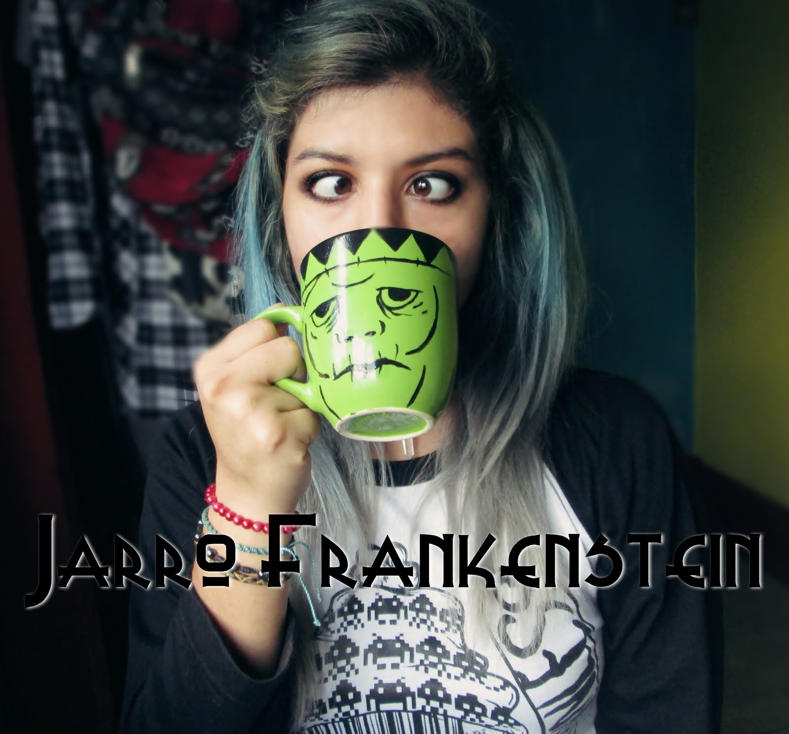 Diy Jarro de Frankenstein - Mady Damn