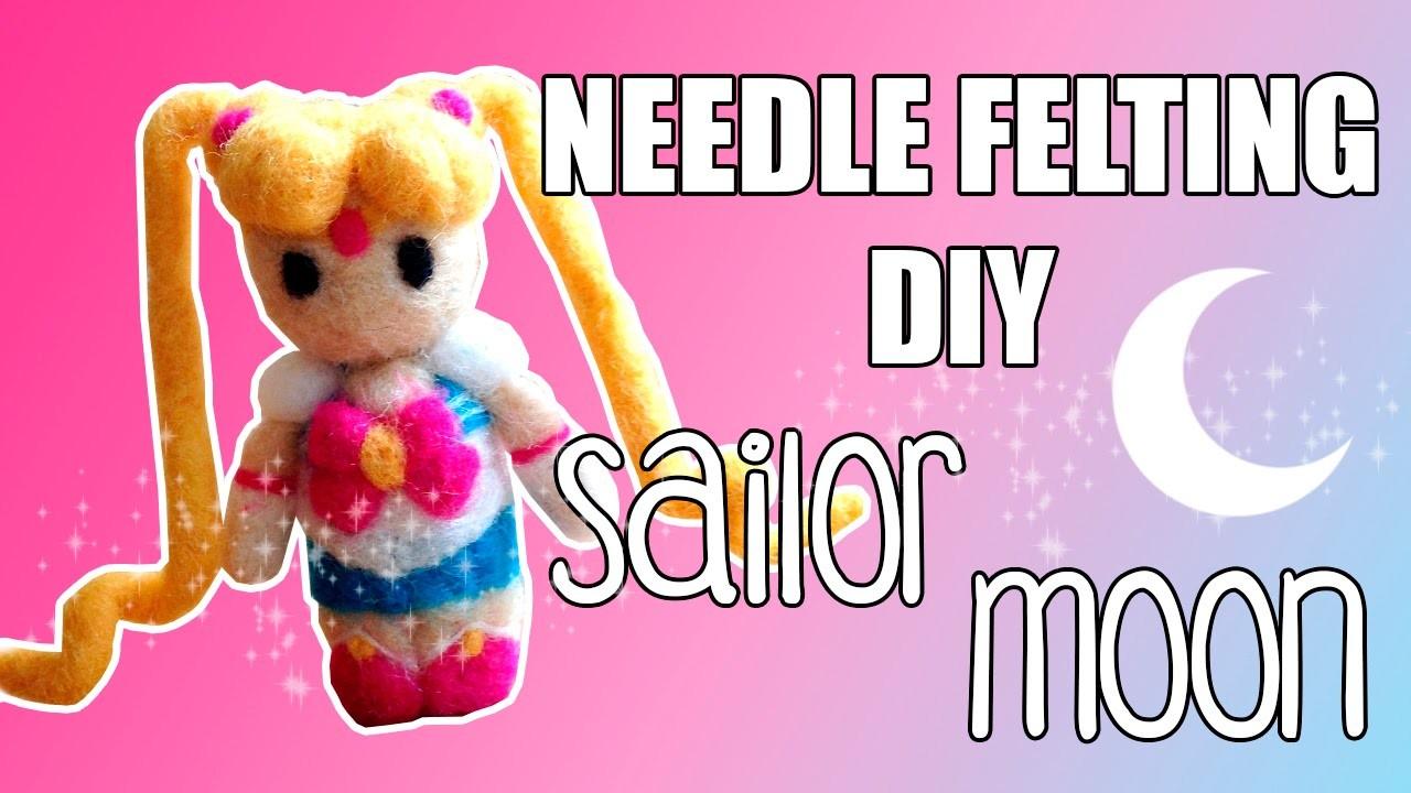 Needle Felting DIY - Sailor Moon